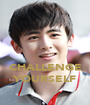 CHALLENGE YOURSELF - Personalised Poster A1 size