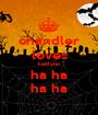 chandler loves kaitlynn ha ha ha ha - Personalised Poster A1 size