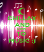 CHILLAX AND LISTEN  TO  MUSIC :) - Personalised Poster A1 size