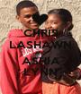CHRIS LASHAWN AND ASHIA LYNN - Personalised Poster A1 size