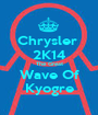 Chrysler  2K14 The Great Wave Of Kyogre - Personalised Poster A1 size