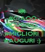 #CIAOO #CUGINO  # i MIEI  #MIGLIORI  #AUGURI :) - Personalised Poster A1 size