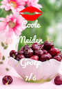 Coole Meiden Van Groep 7/6 - Personalised Poster A1 size