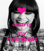 courts is my heartbeat - Personalised Poster A1 size