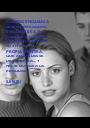 CUANDO ENGAÑAS A QUIEN ENREALIDAD ENGAÑAS ES A TI. PORQUE LOS DEMAS PUEDEN CREERTE Y TU VIVIR EN TU  PROPIA MENTIRA, QUE ALGUN DIA SE DESCUBRIRA... Y NO TE GUSTARA LA REALIDAD.  (LESLIE) - Personalised Poster A1 size