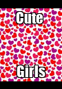 Cute  Girls - Personalised Poster A1 size