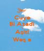 Cuye Bi Azadî û Aşitî Weş a - Personalised Poster A1 size