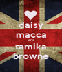daisy macca and tamika browne - Personalised Poster A1 size