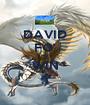 DAVID FO' DA WIN :) - Personalised Poster A1 size