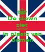 De clown ziet  bommen  in plaats van bomen - Personalised Poster A1 size