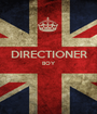 DIRECTIONER BOY   - Personalised Poster A1 size