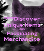 ****Discover Unique Items AND Fascinating Merchandise - Personalised Poster A1 size