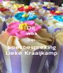 Dit  was mijn boekbespreking Lieke Kraaijkamp - Personalised Poster A1 size