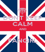 DON'T KEEP CALM AND  FANGIRL - Personalised Poster A1 size