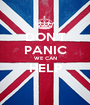 DON'T PANIC WE CAN HELP  - Personalised Poster A1 size