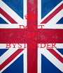 DON'T BE A BYSTANDER  - Personalised Poster A1 size