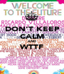DON'T KEEP CALM AND WTTF  - Personalised Poster A1 size