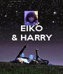 EIKO & HARRY    - Personalised Poster A1 size