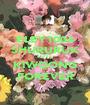 ELEY1004 SHURURUK LOVE KIWOONG FOREVER - Personalised Poster A1 size