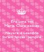 Era uma vez Maria Clara nasceu e Nayara e Leandro foram felizes  sempre - Personalised Poster A1 size