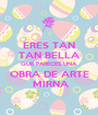 ERES TAN TAN BELLA QUE PARECES UNA OBRA DE ARTE  MIRNA - Personalised Poster A1 size