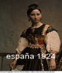 españa 1924 - Personalised Poster A1 size
