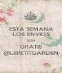 ESTA SEMANA LOS ENVIOS SON GRATIS @LEPETITGARDEN - Personalised Poster A1 size