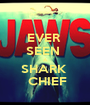 EVER  SEEN  A SHARK   CHIEF - Personalised Poster A1 size