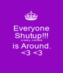 Everyone Shutup!!! Daisy James is Around. <3 <3 - Personalised Poster A1 size