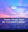 Fac Colaj Cu Eliminari  Pune Poza TaA IN COMENTARIU  - Personalised Poster A1 size