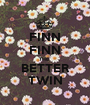FINN FINN THE  BETTER TWIN - Personalised Poster A1 size