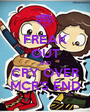 FREAK OUT AND CRY OVER MCR'S END - Personalised Poster A1 size