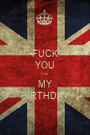FUCK YOU IT'S  MY BIRTHDAY - Personalised Poster A1 size