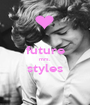 future mrs. styles  - Personalised Poster A1 size