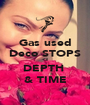 Gas used Deco STOPS <3 DEPTH  & TIME - Personalised Poster A1 size