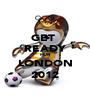 GET  READY FOR  LONDON 2012 - Personalised Poster A1 size