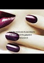 Get the manicure of your dreams  with NSI Polish Pro gelpolish www.pedicuresuzan.nl - Personalised Poster A1 size