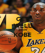GET WELL SOON KOBE  - Personalised Poster A1 size