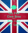 Gii Fee Dee Boo BFFS Bee Nay Aii Sary - Personalised Poster A1 size