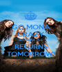 GO MONA CRAZY BECAUSE PLL RETURNS TOMORROW! - Personalised Poster A1 size