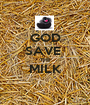GOD SAVE  THE MILK  - Personalised Poster A1 size