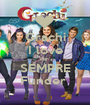 Grachi I love Per  SEMPRE Funder  - Personalised Poster A1 size