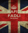 HAFID FADLI WIGUNA   - Personalised Poster A1 size