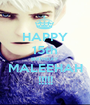 HAPPY 15th BIRTHDAY MALEEHAH !!!!! - Personalised Poster A1 size