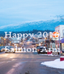 Happy 2016  Salmon Arm  - Personalised Poster A1 size
