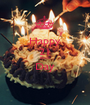 Happy 21 Birth Day  - Personalised Poster A1 size