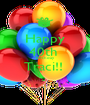 Happy 40th  Birthday Traci!!   - Personalised Poster A1 size