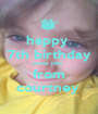 happy  7th birthday james john  from courtney  - Personalised Poster A1 size