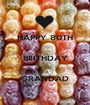 HAPPY 80TH  BIRTHDAY  GRANDAD - Personalised Poster A1 size