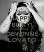 HAPPY  BDAY! DEMETIRA DEVONNE LOVATO - Personalised Poster A1 size